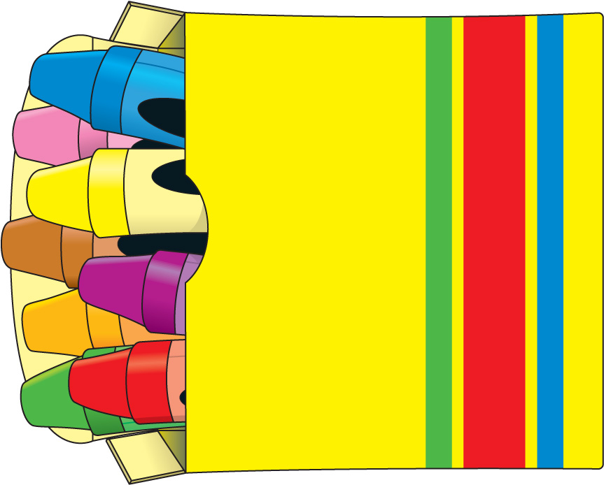863x694 Clip Art Crayon