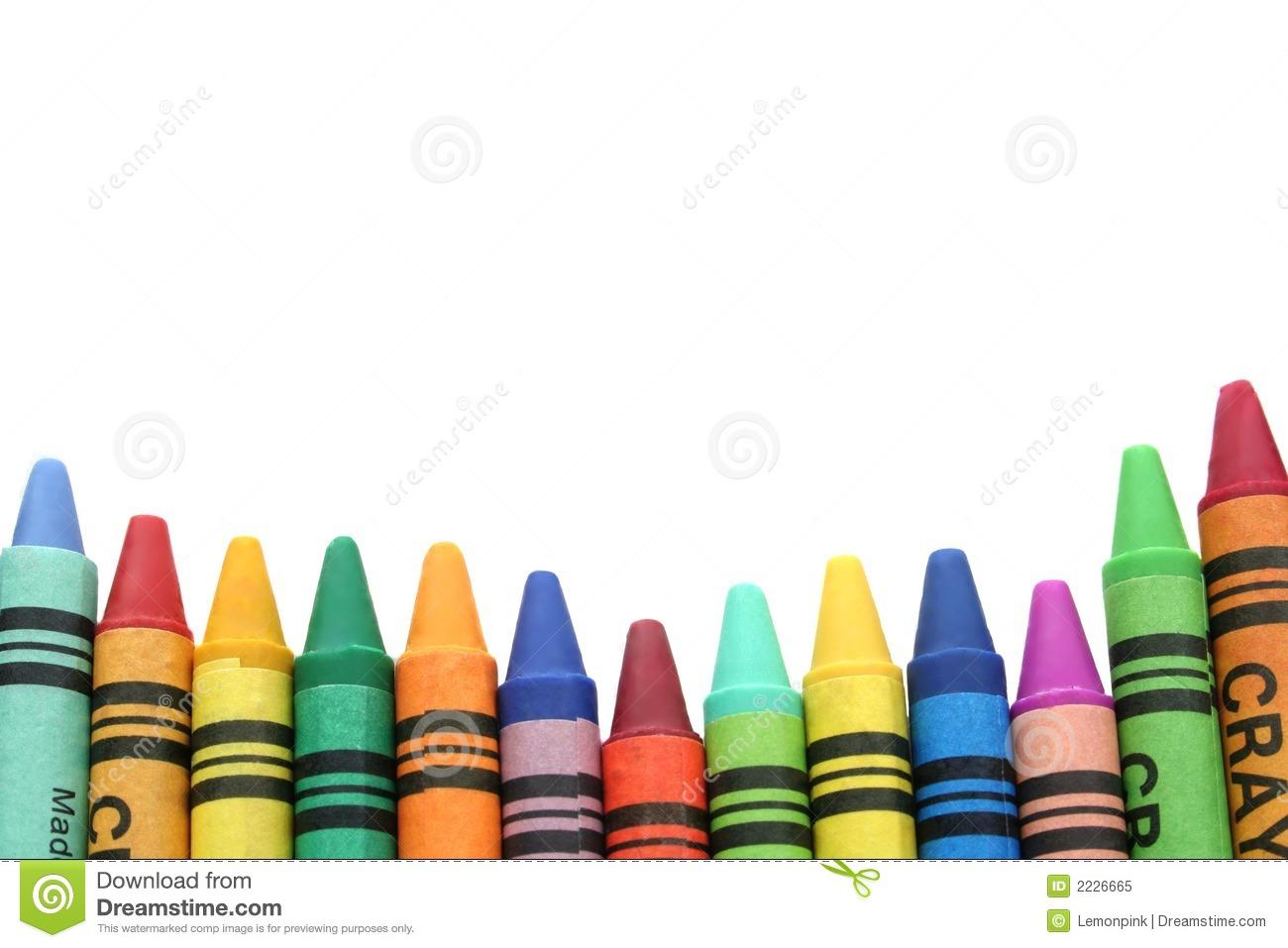 1300x957 Crayon Border Clipart