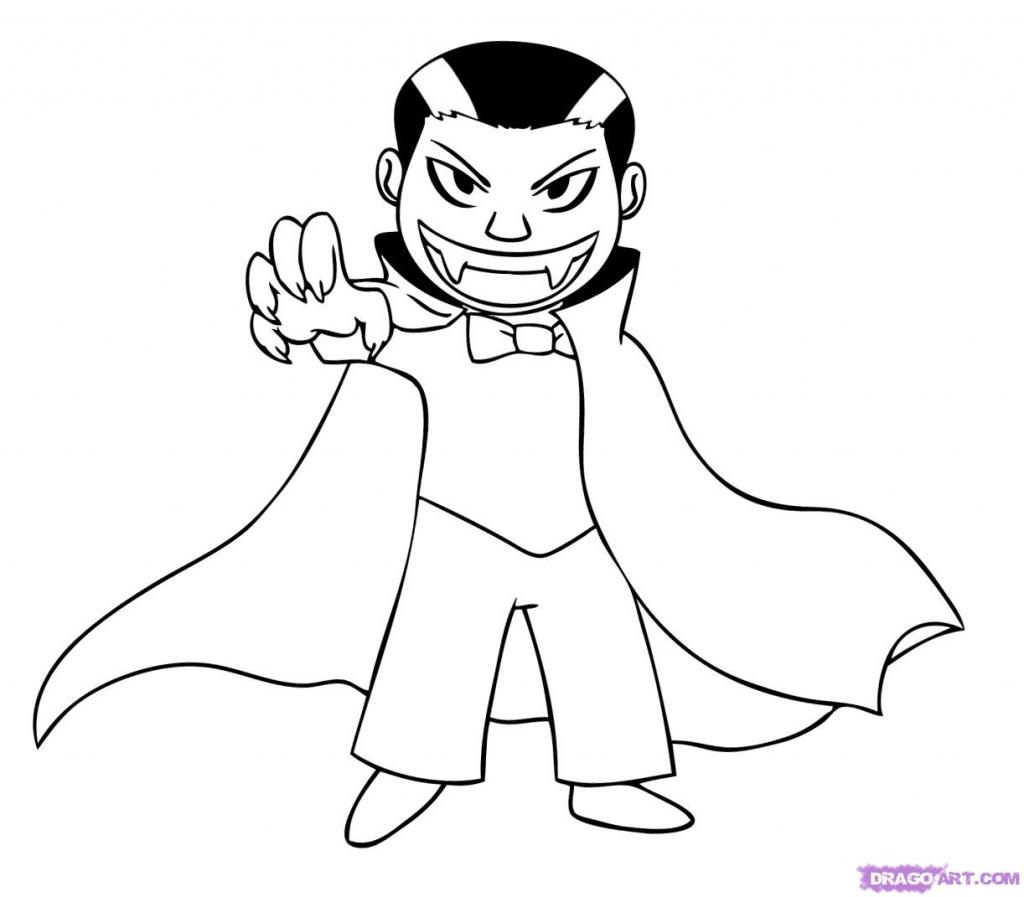 1024x897 Cartoon Vampire Drawings In Pencil How To Draw A Cartoon Vampire