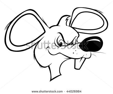 450x374 Drawn Rat Cartoon