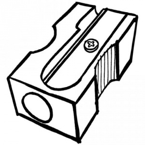 300x300 Sharpener Clipart Black And White Letters