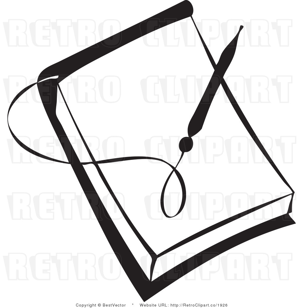 1024x1044 Notebook Clipart Black And White