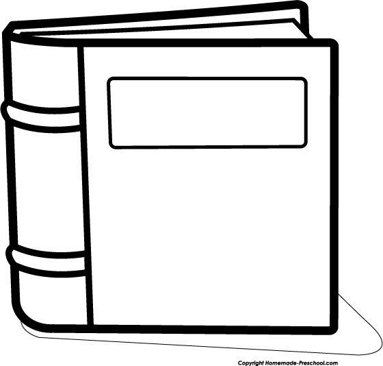 560x534 Book Black And White Stories Clipart Black And White Pencil
