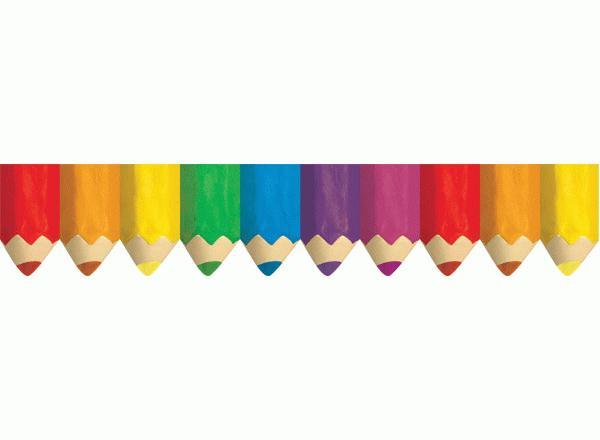 600x440 Pencil Clipart Boarder