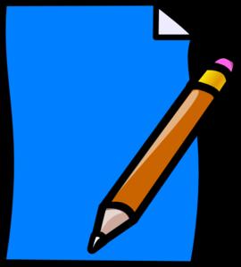 270x299 Paper And Pencil Clipart Clipart Panda