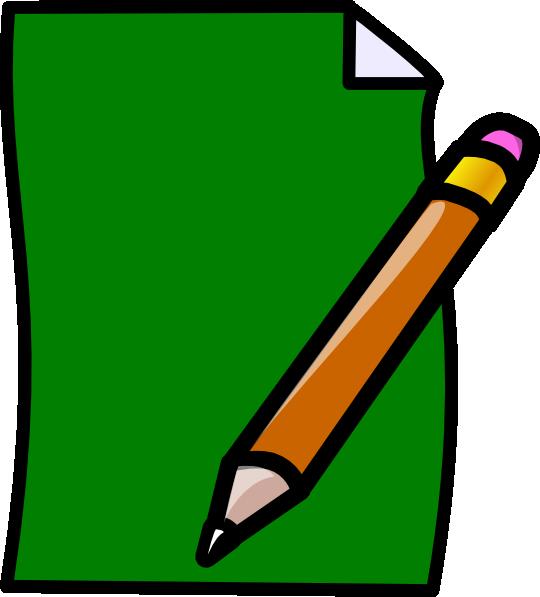540x597 Paper Clip Art