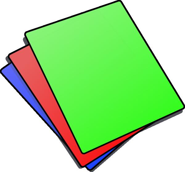 600x558 Paper Clipart
