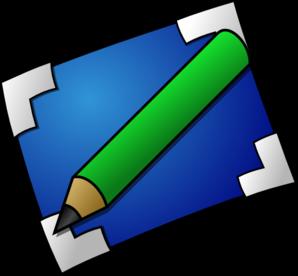 298x276 Pencil And Paper Clip Art