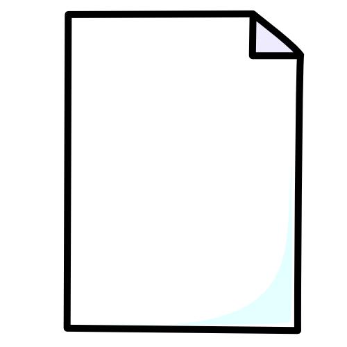 500x500 Clip Art Paper