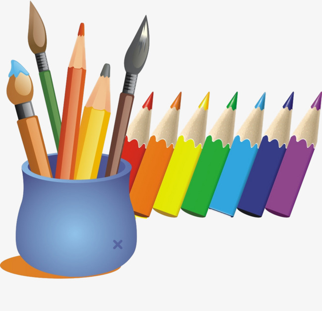 650x628 Cartoon Color Pen, Colored Pencils, Color Pen, Cartoon Pen Png