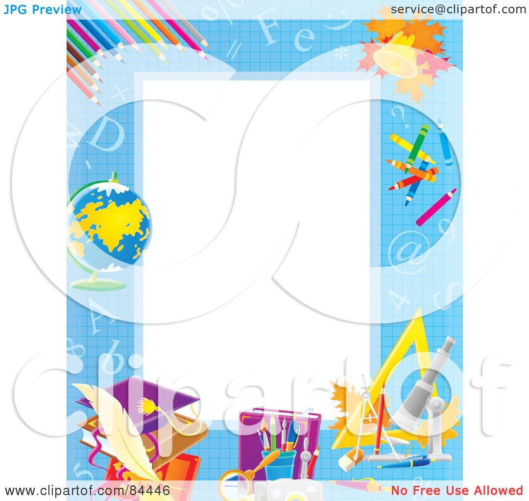 1080x1024 Royalty Free (Rf) Clipart Illustration Of A Vertical Educational