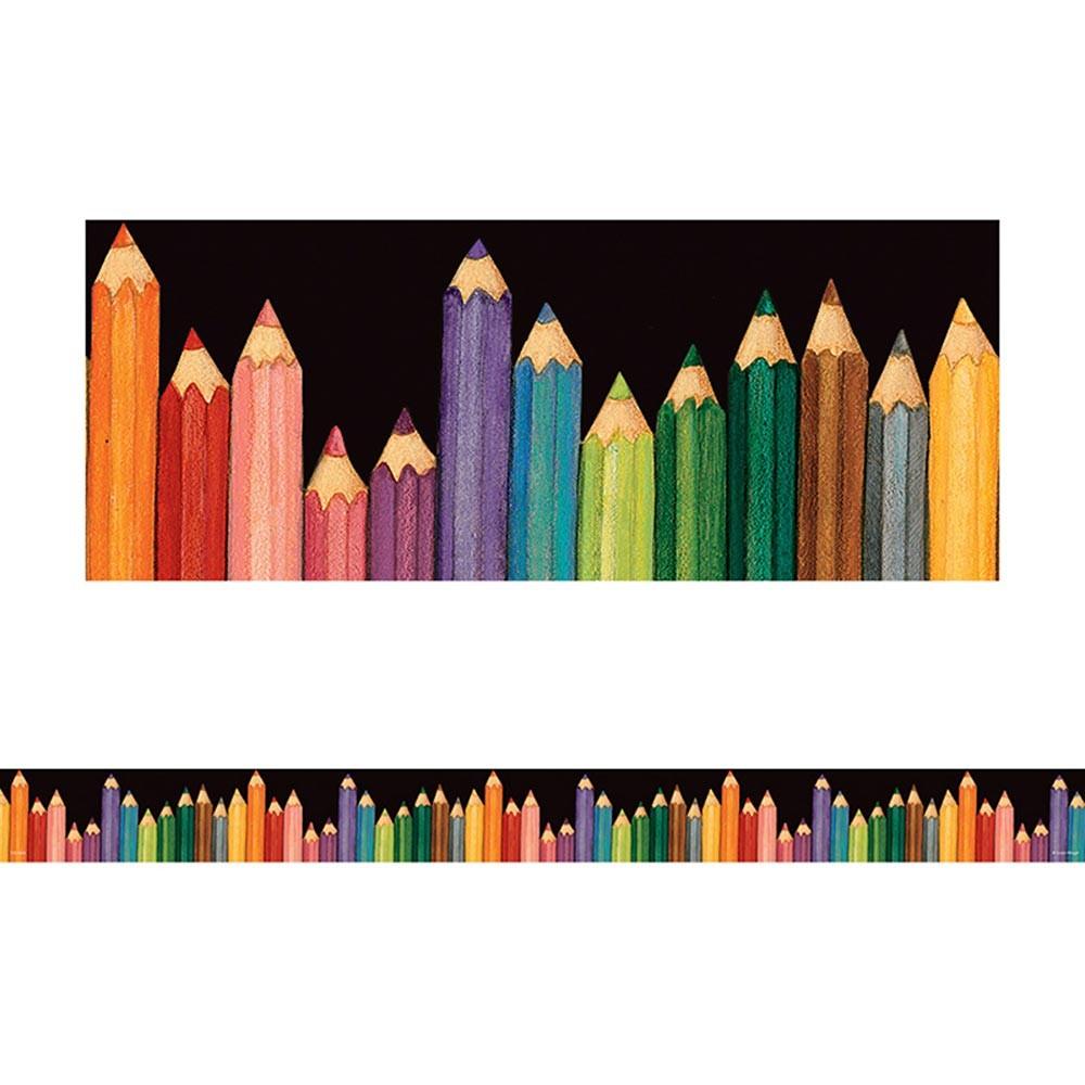 1000x1000 Sw Colored Pencils Straight Border Trim