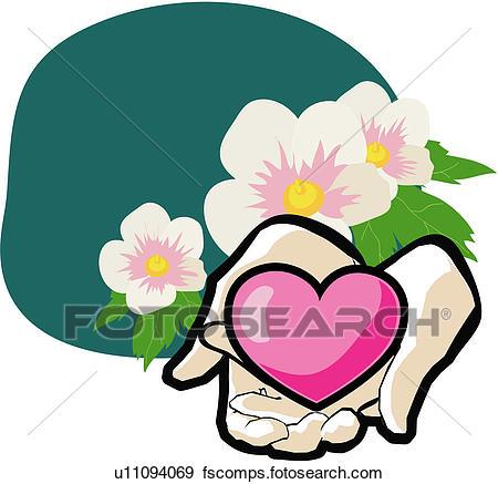 450x437 Clip Art Of Patriotic Sentiment, Althea, National Flower, Plant