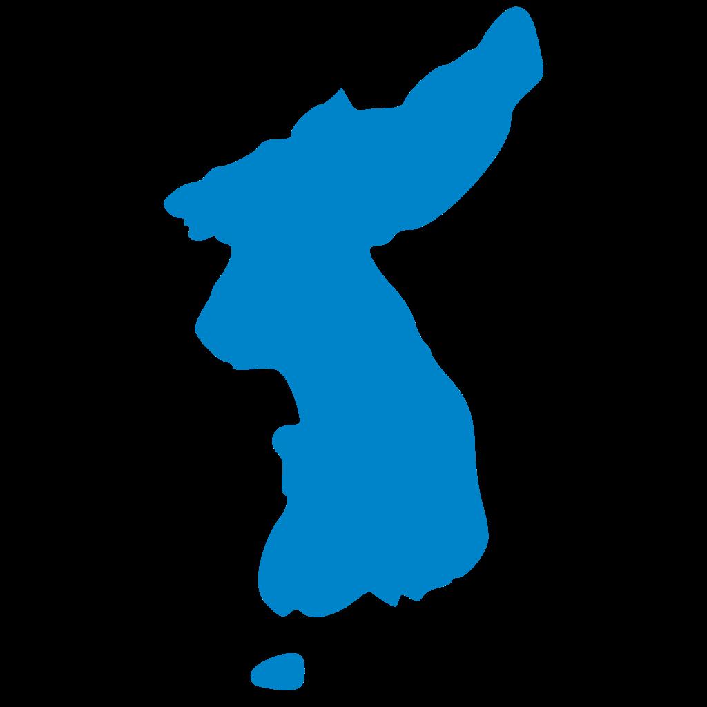 1024x1024 Korean Clipart Korea Map