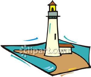 300x255 Lighthouse On A Peninsula