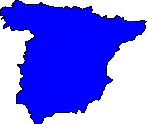 300x254 Spain Peninsule Clip Art