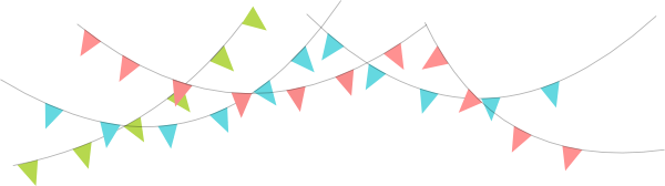 Pennant Banner Clipart | Free download on ClipArtMag