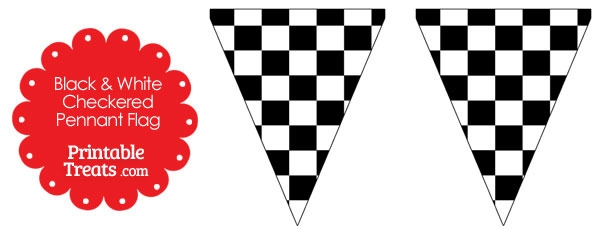 610x229 Graphics For Checkered Pennant Flag Graphics