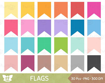 340x270 Bunting Banner Clipart Flag Banner Clip Art Pennant Flags