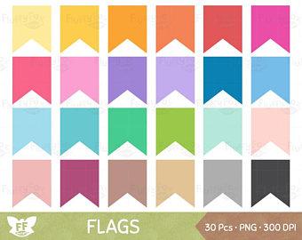 340x270 Bunting Banner Clipart Flag Banner Clip Art Pennant Flags