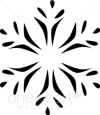 337x388 Pennsylvania Dutch Snowflake Clipart Snowflake Wedding Clipart