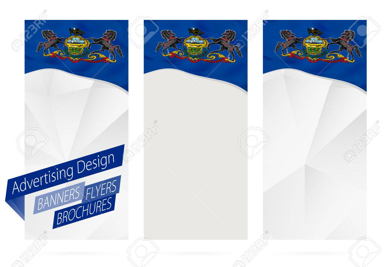 1300x886 Design Of Banners, Flyers, Brochures With Pennsylvania State