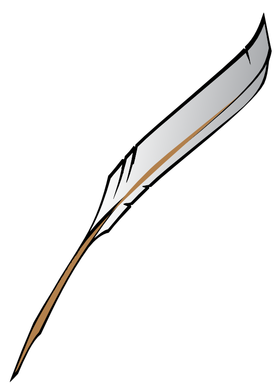 574x800 Feather Clipart Fountain Pen