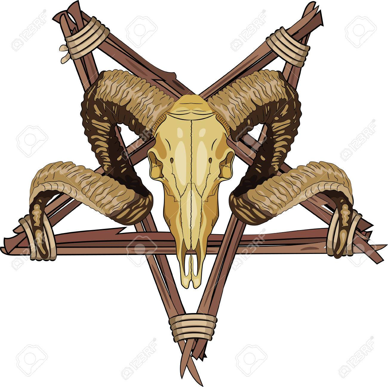 Pentagram Cliparts