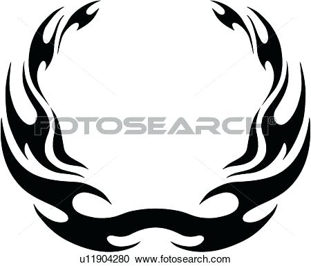 450x385 Flames Clipart Flame Outline Images Clip Art Flames Tattoo Outline