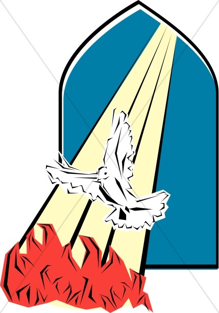 429x612 Holy Spirit Visits The Apostles On Pentecost Pentecost Clipart