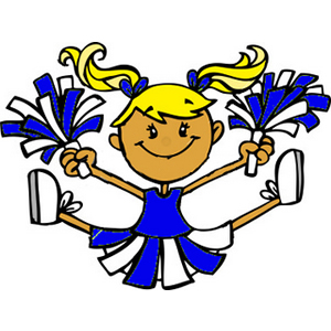 300x300 Cheerleader Clip Art On Cheerleading Stick Figures And Cheer