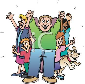 350x346 Happy People Clip Art Clipart