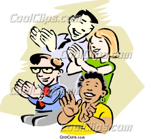 300x287 Audience Clapping Hands Clipart