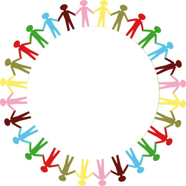 600x600 Free Stick People Clip Art Holding Hands Stick People Multi