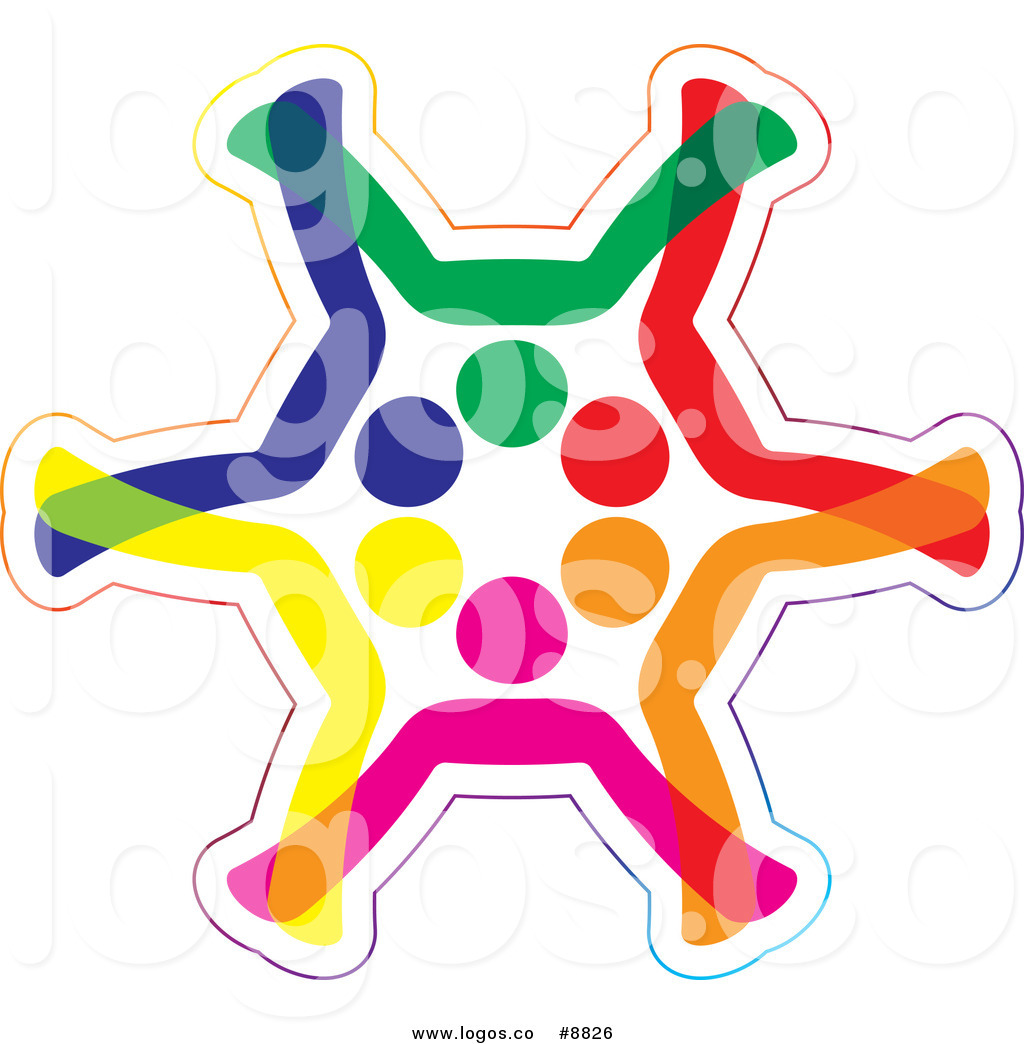 1024x1044 Royalty Free Cliprt Vector Colorful Diverse People Forming