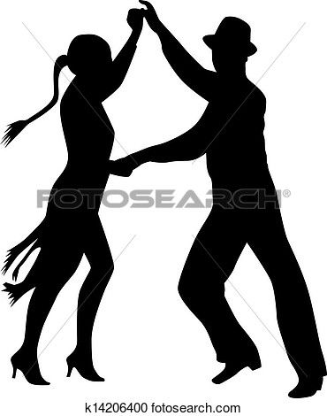 People Dancing Clipart