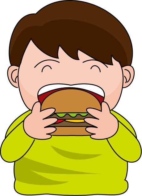 460x633 Eating Clipart