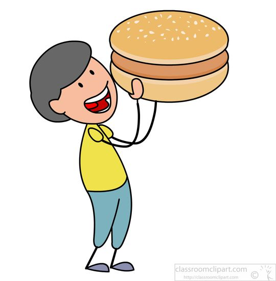 540x550 Graphics For Graphics Of People Eating Burgers