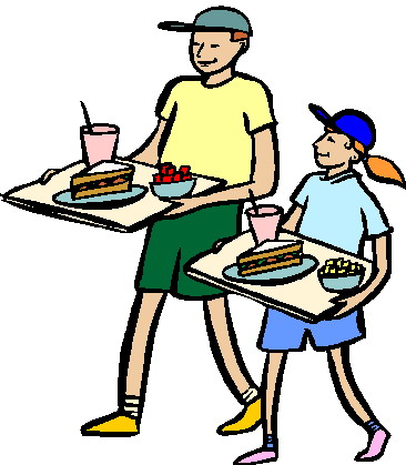 366x419 People Eating Lunch Clipart Kid