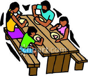 300x258 Picnic Table Clipart Picnic Area