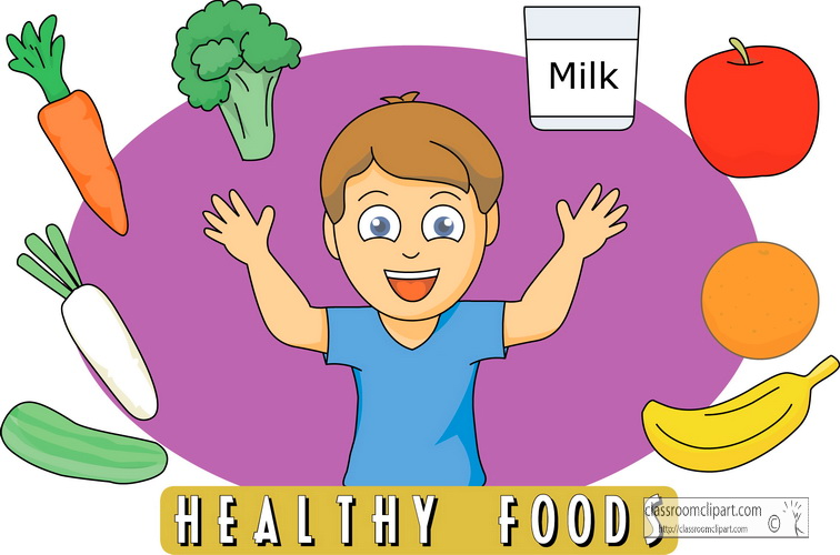 756x500 Vegetable Clipart Healthy Eating