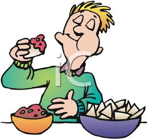 300x282 Clip Art People Eating Cool Clip Art