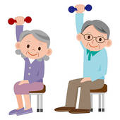 170x170 Group People Exercising Clipart