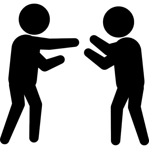 626x626 Criminal Fighting With A Person Icons Free Download