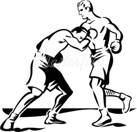 550x530 Two People Fighting