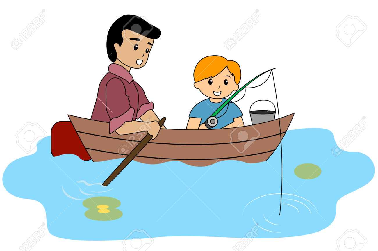 1300x863 Fishing Boat Clipart Child Fishing