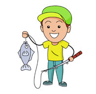 195x191 People Fishing Cliparts Free Download Clip Art Free Clip Art