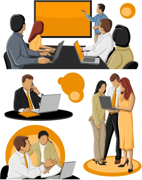 475x600 People Clipart Business