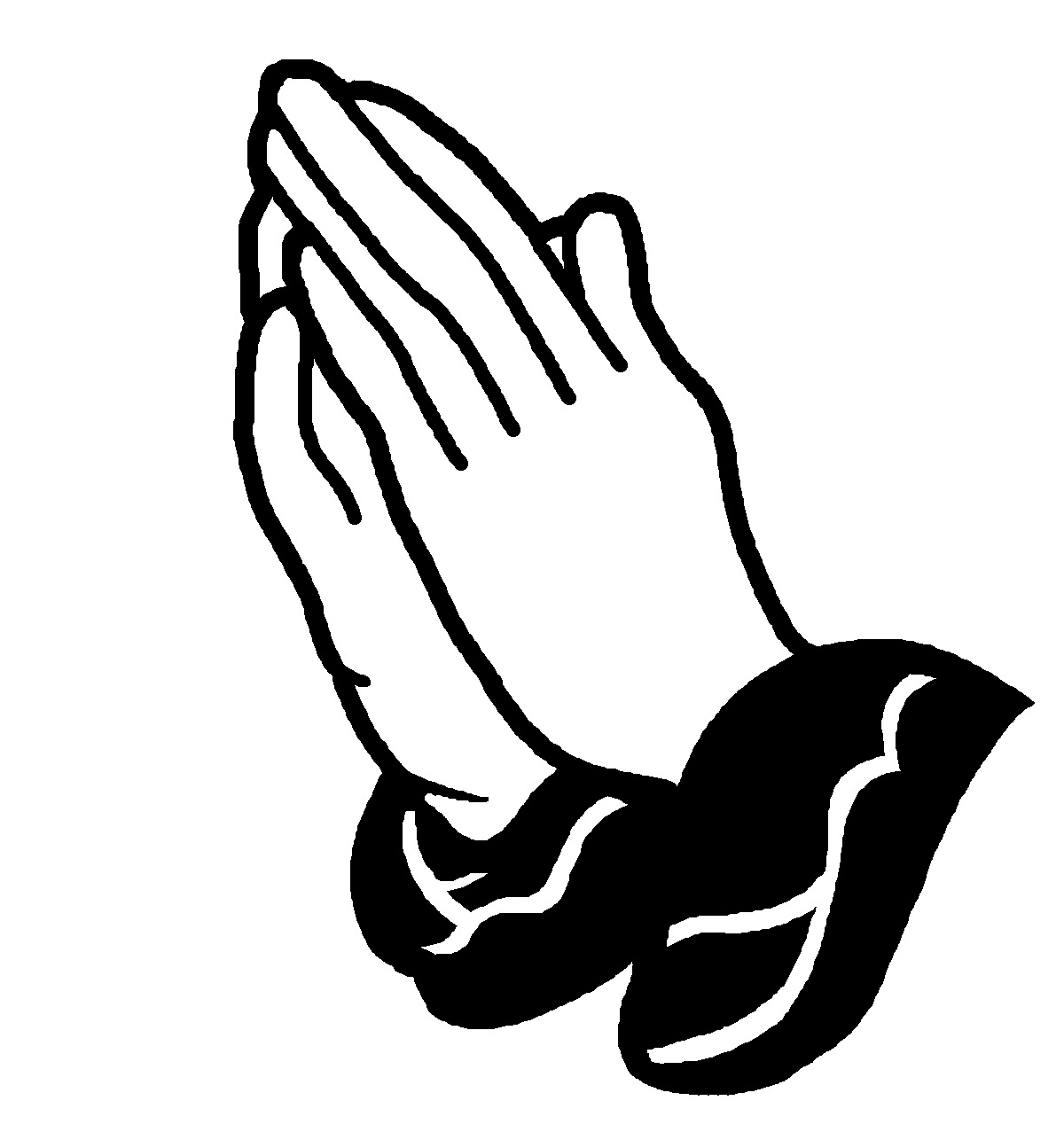 1200x1268 Clip Art Prayer Black Praying Hands Clip Art Download Kneeling