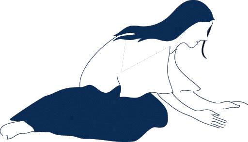 512x294 Clip Art Woman Praying Clipart Panda